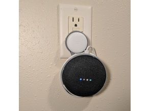 Google Home Mini Plug Mount (US Only)