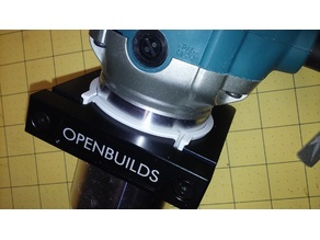 71mm to 65mm Adapter for OpenBuilds Spindle Clamp (Makita RT0701C)