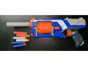 Nerf Strongarm Barrell Extension