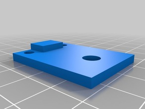gMax 1.5 y-axis endstop for use with 1.0 bed support