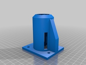 Motor Mount for 37mm 12V motors