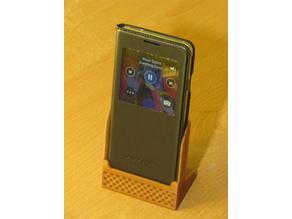 Enhanced Sound Phone Stand