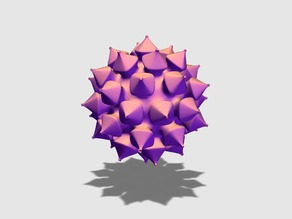 Spiky seed bauble