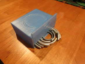 Mainspring Clamps Box for Clock Repairers