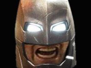 BATMAN GRRRRR HELMET