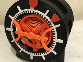 Simple Desk Stand for 3D Printed Watch