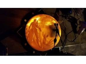 Sylvanas Globe Lithophane