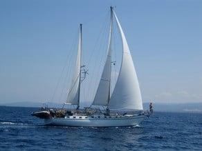 Mikado sailboat