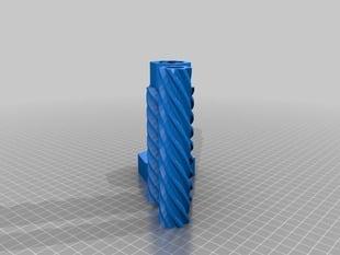 telescopic linear screw