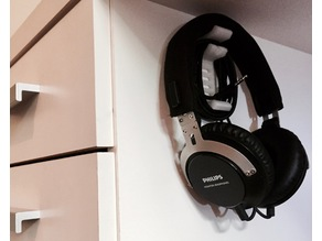Easy To Print Headphone Hanger/Mount