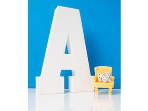 Decorative Letter - A