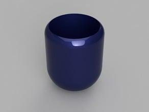 Mini modern plant pot
