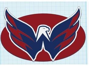 Washington Capitals Eagle Logo Multi Color MMU