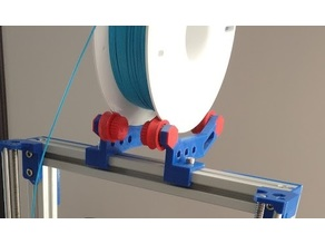 Hex Style spool holder for 3030 extrusion profile
