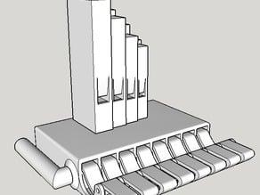 Simple Pipe Organ