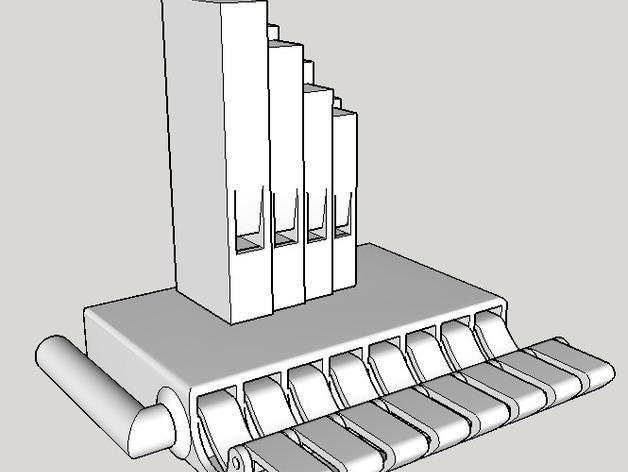 Simple Pipe Organ by RyanMellor - Thingiverse