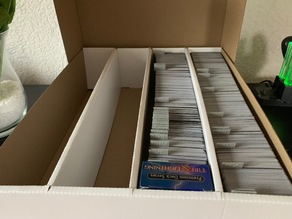 MTG card collection divider with text tab