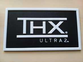 THX Ultra 2 Logo Sign