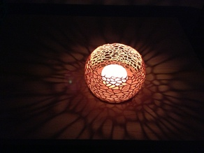 Coral Candle Fixture