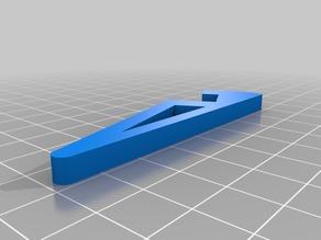 Bracket for Rummikub Plastic Tile Racks