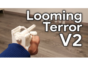 Looming Terror V2 (35 round, wrist mounted and manual control)