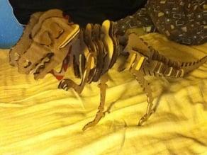 Lasercut Dinosaur