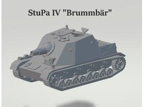 "1:56 Sturmpanzer IV "" Brummbär """