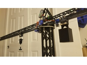 RC Tower Crane 1.42m 56in