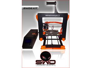 SWD2 KIT Z-AXIS REAR MOUNT FOR WANHAO DUPLICATOR I3 / MONOPRICE MAKER SELECT