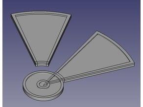 Infinity - Smoke Template (2.5mm)
