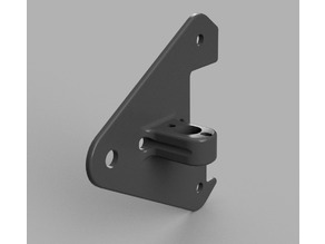 Ender 3 - X axis motor mount rear plate - No extruder mount