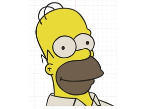 Homer Simpson Multi colour