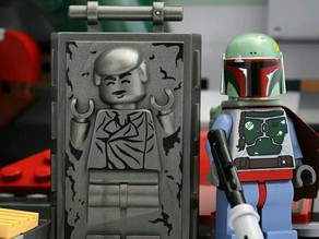 Minifig Han Solo in Carbonite