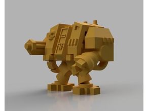 Space Marine Dreadnought for Epic 40K (6mm scale)