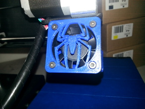 Spider-Man Logo Fan Grill - 40mm