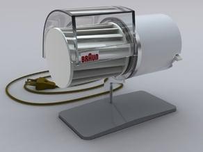 Braun HL1 - Personal Desktop Fan - vintage