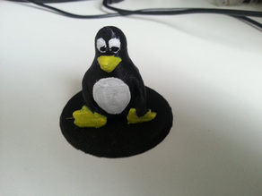 Tux the Linux Penguin statue