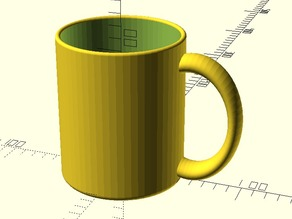 Customizable coffee mug