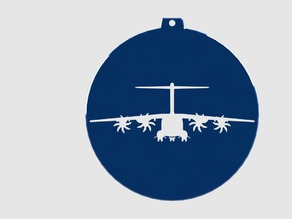 Airbus Aircraft Coffee Stencils or Christmas Ornaments