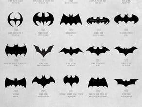 All of batman's logos
