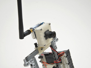 LEGO FPV camera enclosure and mount