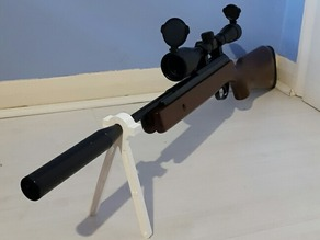 Air Rifle Bi-pod (17mm Diameter)