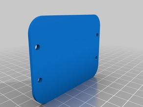 Part 4 of 4 GP7/9 upper speaker enclosure back cover