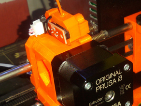 Prusa i3 MK2S filament runout sensor bracket/holder