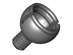 Canopy Pin rear SOXOS Heli Professional