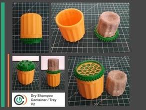 Dry Shampoo Container / Tray