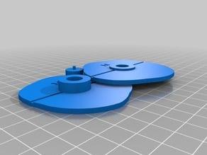 Custom Cams for Mechanical Laser Show