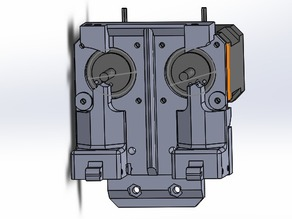 Dual direct drive for Prusa i3 1.75mm