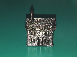 Simple house (model railway)