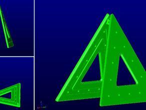 Traffic warning triangle